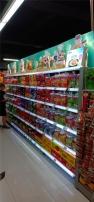 超市發光貨架制作